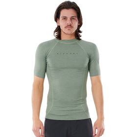 Rip Curl Down Patrol SS UV Shirt Men, green marle
